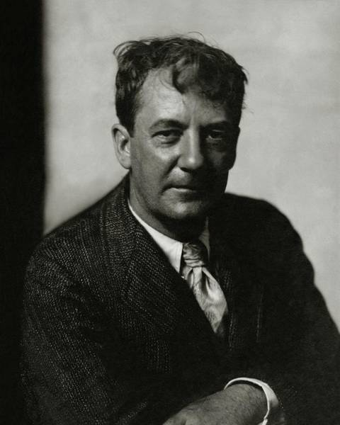 Authors Photograph - Portrait Of Sherwood Anderson by Edward Steichen