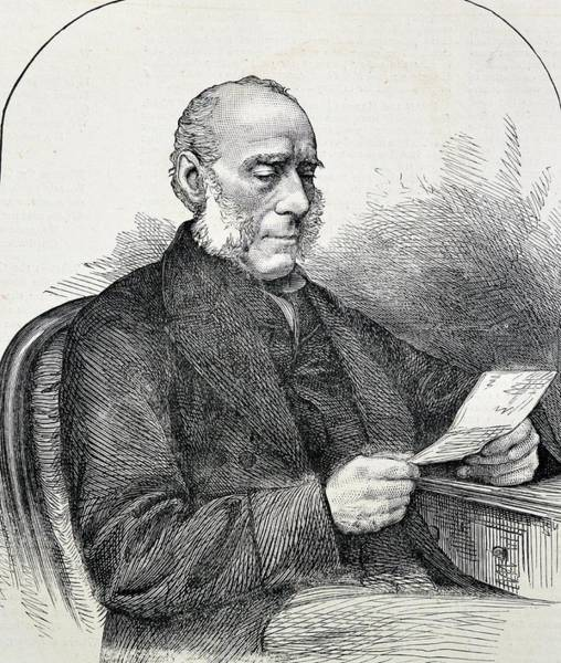 Engraving Photograph - Portrait Of Sir James Clark by Universal History Archive/uig