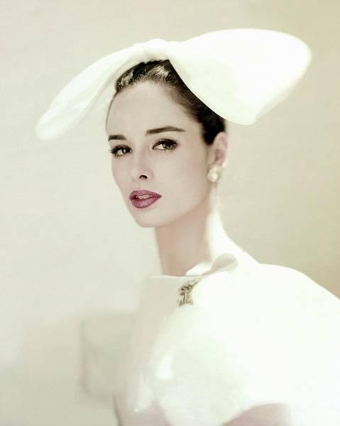 American Beauty Photograph - Portrait Of Sondra Peterson by Karen Radkai