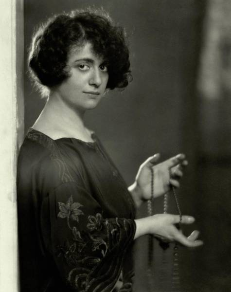 January 1st Photograph - Portrait Of Sophie Braslau by Nickolas Muray