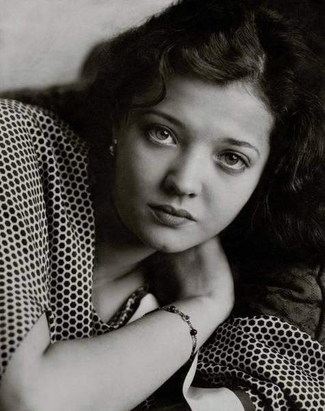 American Beauty Photograph - Portrait Of Sylvia Sidney by Edward Steichen