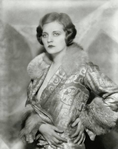 Celebrities Photograph - Portrait Of Tallulah Bankhead by Nickolas Muray