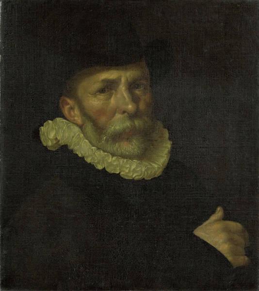 Wall Art - Painting - Portrait Of The Painter Dirck Barendsz by Litz Collection