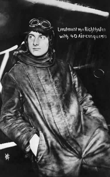 Photograph - The Red Baron's Brother by Underwood Archives