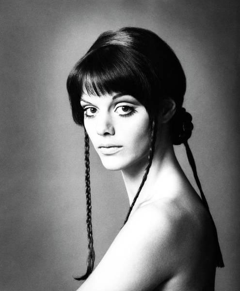 Italian Actress Wall Art - Photograph - Portrait Of Tina Aumont by Elisabetta Catalano