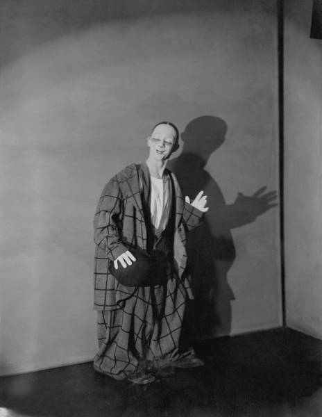 Wave Photograph - Portrait Of Toto by Edward Steichen