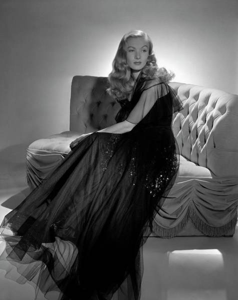 Portrait Of Veronica Lake Art Print by John Rawlings
