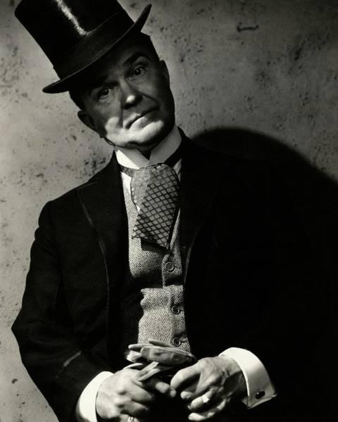 Necktie Wall Art - Photograph - Portrait Of Victor Moore by Edward Steichen