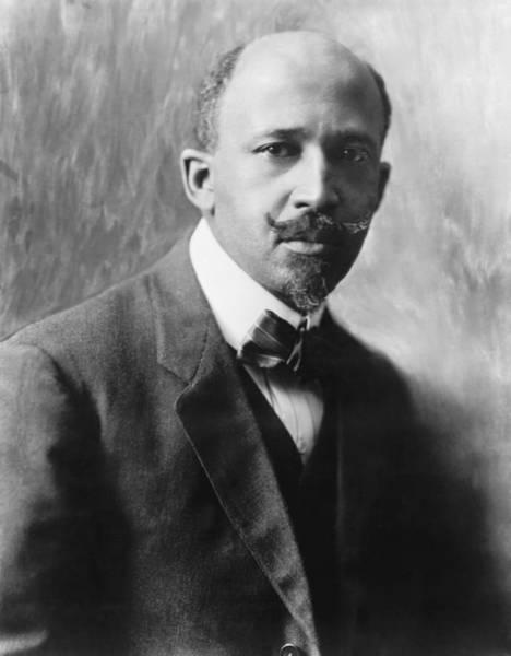 Photograph - Portrait Of W.e.b. Dubois by Underwood Archives