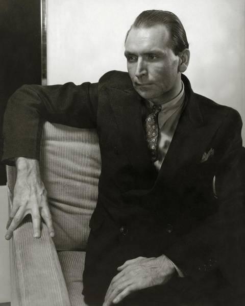 Relaxation Photograph - Portrait Of Werner Janssen by Edward Steichen