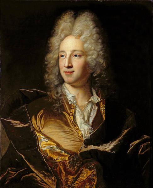 Alexandre Photograph - Portrait Presumed To Be Louis-alexandre De Bourbon 1678-1737 Duc De Damville Oil On Canvas by Hyacinthe Rigaud