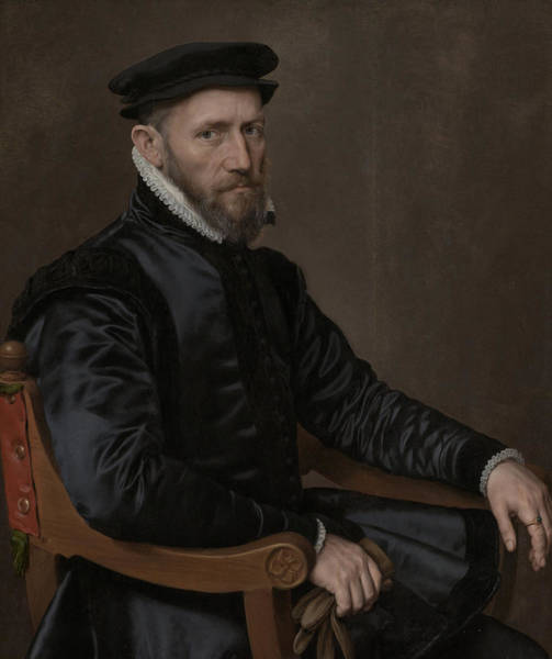 Wall Art - Drawing - Portraits Of Sir Thomas Gresham And Anne Fernely by Quint Lox