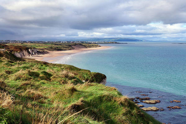 Northern Italy Photograph - Portrush Bay, Co. Antrim, Northern by Andrea Ricordi, Italy