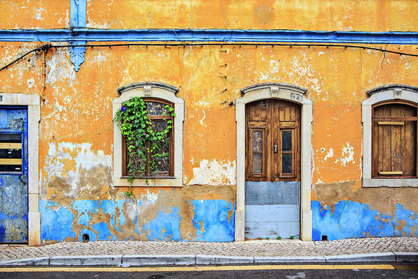 Ugliness Photograph - Portugal, Facade Of An Old Abandoned by Westend61