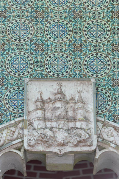 Glazed Tiles Photograph - Portugal, Sintra, Natural Water Spring by Jim Engelbrecht