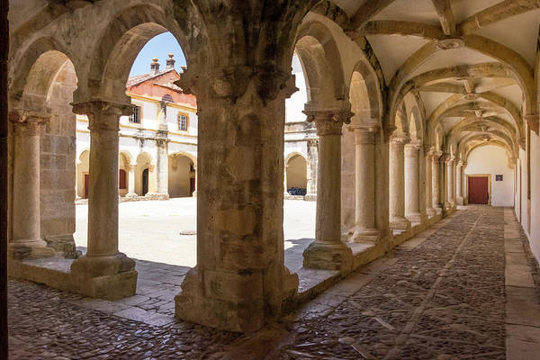 Cloister Photograph - Portugal Tomar Castle, Knights by Emily Wilson