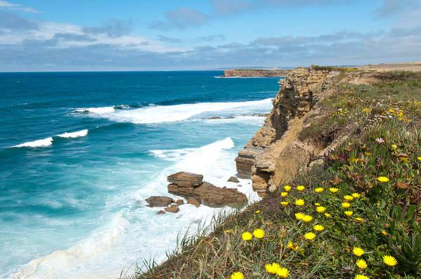 Photograph - Portuguese Coastline by Cascade Colors