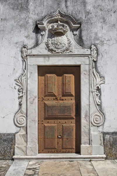 Photograph - Portuguese Door Of 1825 by David Letts