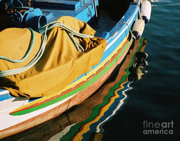 Photograph - Portuguese Fishing Boat by Michael Helfen