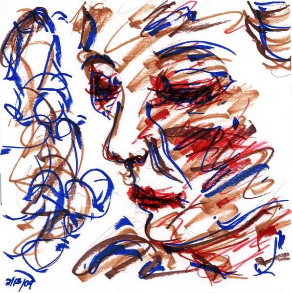 Drawing - Pose I by Rachel Scott