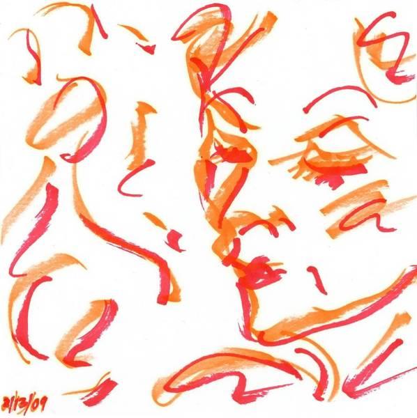 Drawing - Pose IIi by Rachel Scott