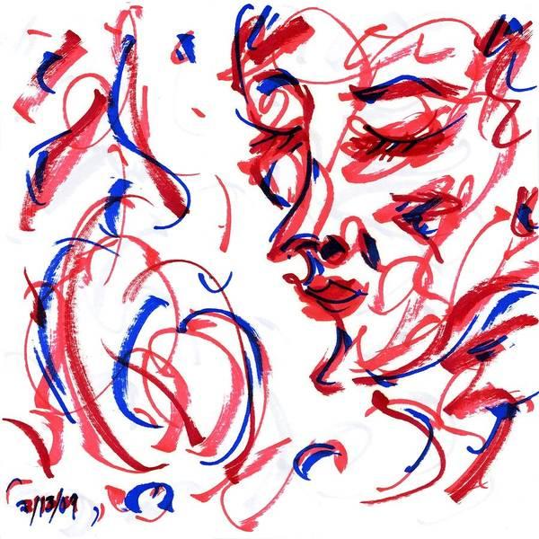 Drawing - Pose Iv by Rachel Scott