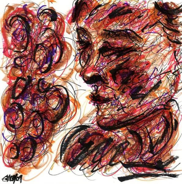 Drawing - Pose Vi by Rachel Scott