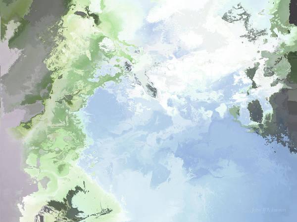 Painting - Poseidon Enosichthon by John WR Emmett
