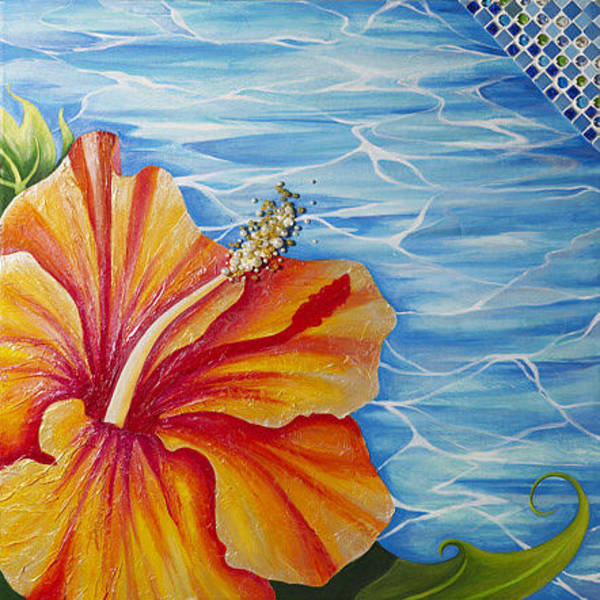 Hibiscus Flower Paintings (Page #28 of 38) | Fine Art America