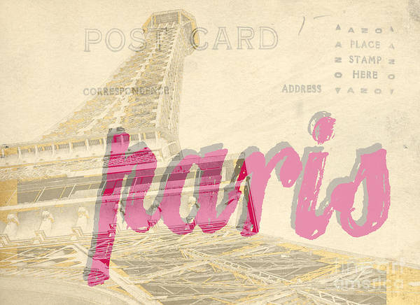 Photograph - Postcard From Paris by Edward Fielding