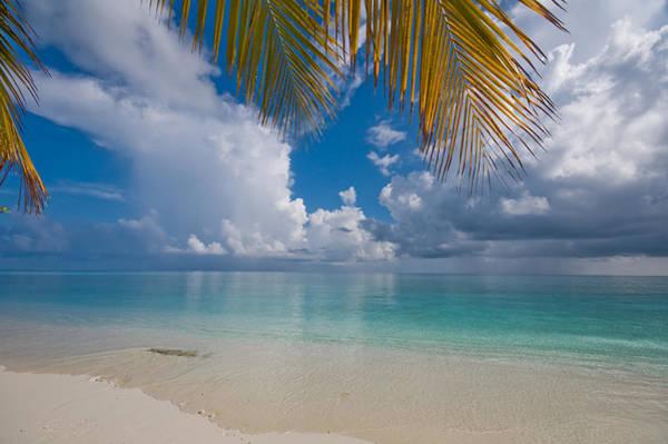 Rainbow Photograph - Postcard Perfection. Maldives by Jenny Rainbow