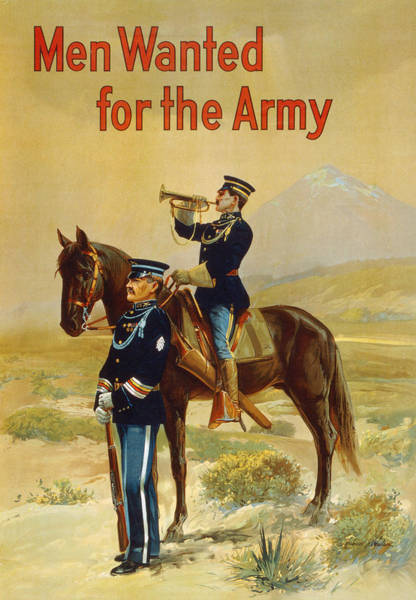 Recruitment Painting - Poster Army Recruitment by Granger