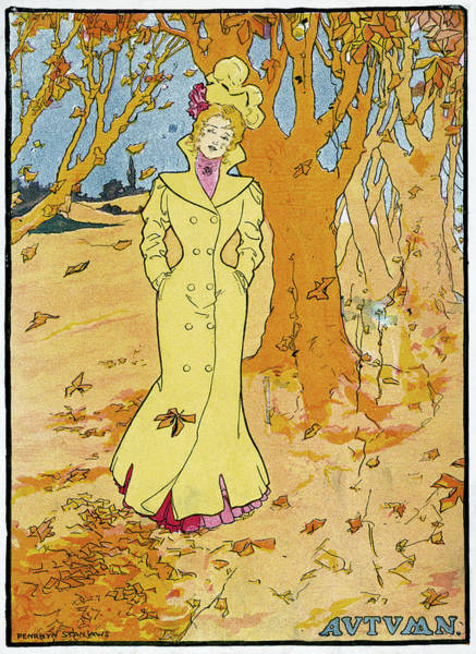 Wall Art - Drawing - Poster Autumn, 1907 by Granger