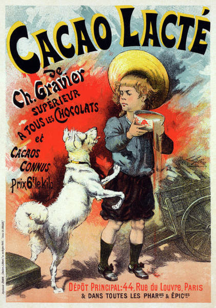 Wall Art - Drawing - Poster Cocoa, C1899 by Granger