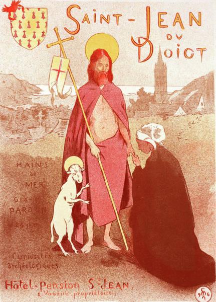 Wall Art - Painting - Poster For Le Pardon De Saint-jean-du-doigt by Liszt Collection