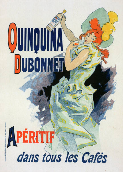 Wall Art - Painting - Poster For Quinquina Dubonnet,  A Sweet by Liszt Collection