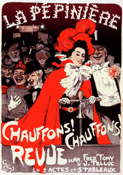 Wall Art - Painting - Poster For The Concert De La Pépinière Chauffons Chauffons by Liszt Collection