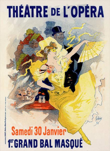 Wall Art - Painting - Poster For Théâtre De Lopéra. Samedi 30 Janvier 1897 by Liszt Collection