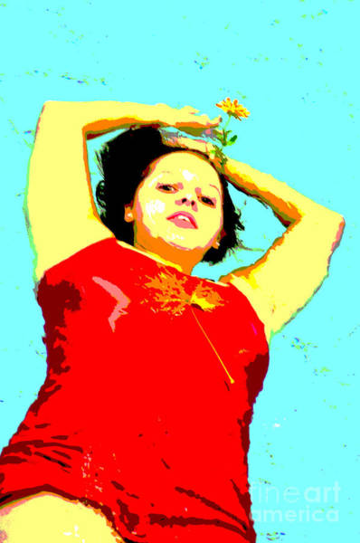 Photograph - Poster Girl 2 by Randi Grace Nilsberg