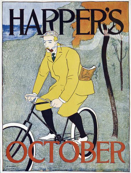 Wall Art - Painting - Poster Harper's, 1894 by Granger