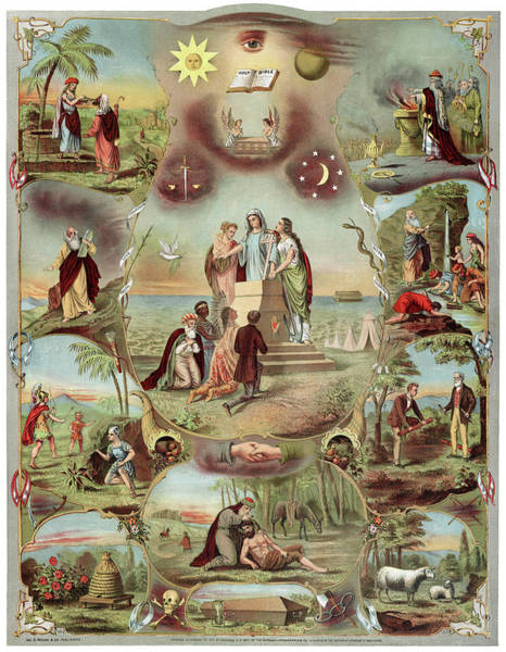 Wall Art - Painting - Poster Odd Fellows, C1871 by Granger