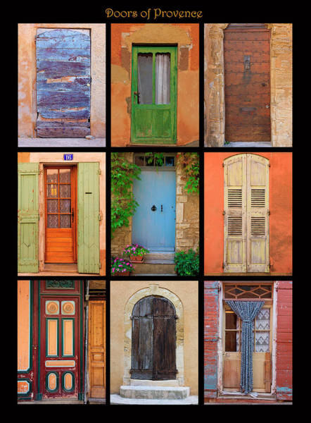 Wall Art - Photograph - Poster Of Doors Shot Throughout by Mallorie Ostrowitz