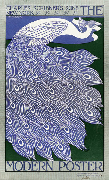 Wall Art - Painting - Poster Peacock, 1895 by Granger