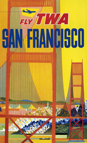 Wall Art - Painting - Poster San Francisco, C1957 by Granger