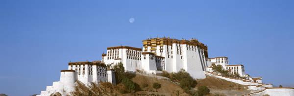 Dalai Lama Wall Art - Photograph - Potala Palace Lhasa Tibet by Panoramic Images