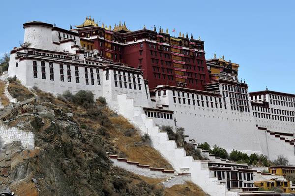Asia Photograph - Potala Palace, Tibet by Latitudestock - Masayuki Yamasaki
