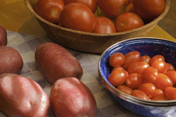 Photograph - Potatoes And Tomatoes by Sherri Meyer