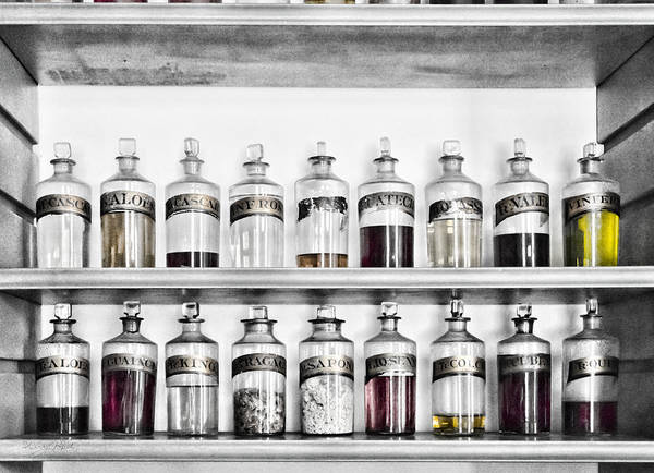 Photograph - Potions Galore by Sharon Popek