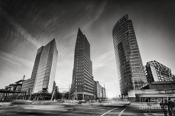 Deutschland Photograph - Potsdamer Platz 1 by Rod McLean