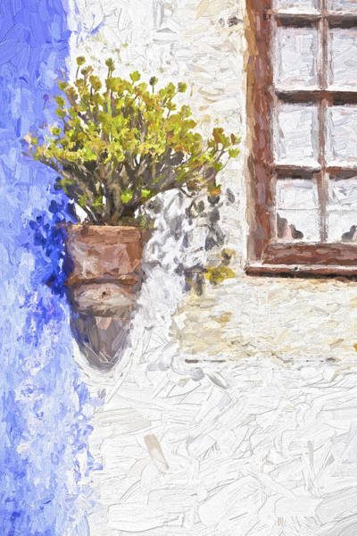Painting - Potted Plant by David Letts
